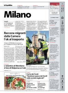 la Repubblica Milano - 18 Dicembre 2017