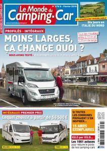 Le Monde du Camping-Car - février 2016