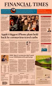 Financial Times Europe – 19 February 2020