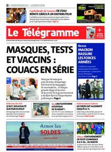 Le Télégramme Landerneau - Lesneven – 20 janvier 2021