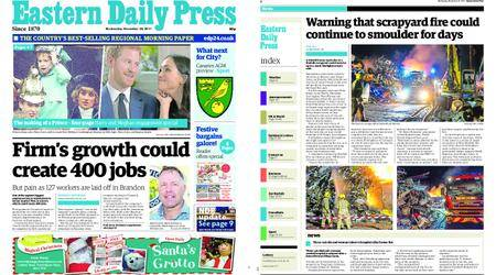 Eastern Daily Press – November 29, 2017