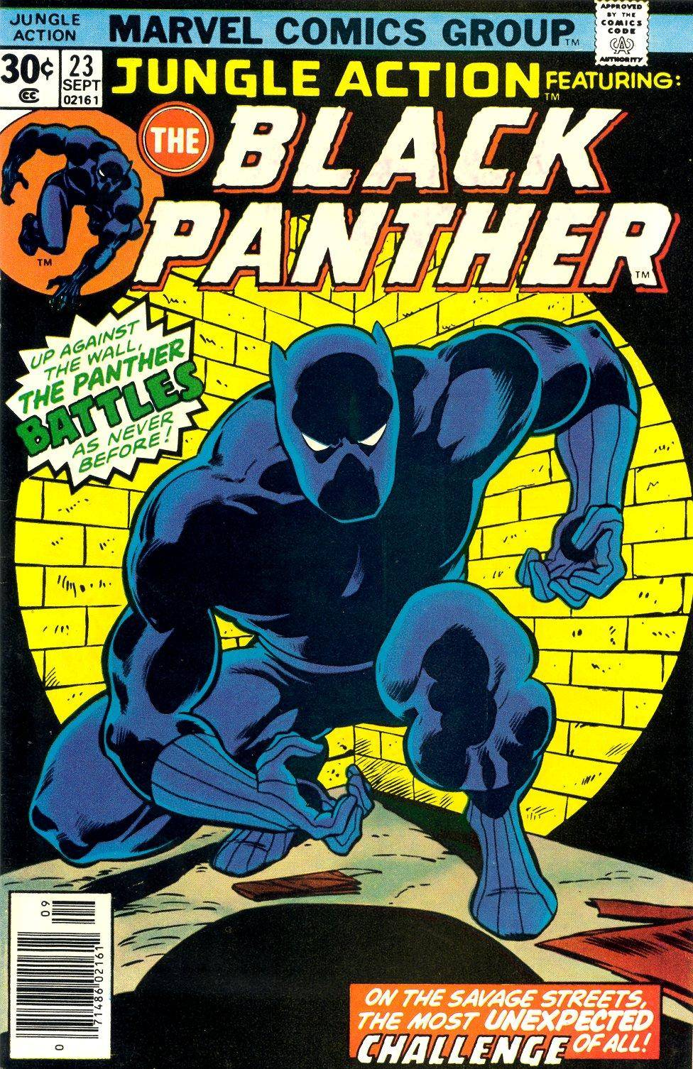 Jungle Action v2 023 featuring Black Panther