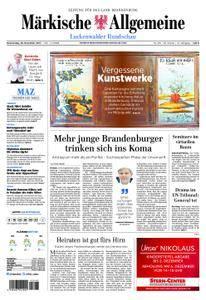 Märkische Allgemeine Luckenwalder Rundschau - 30. November 2017