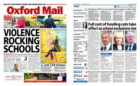 Oxford Mail – October 06, 2017