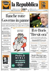 la Repubblica - 14 Dicembre 2019