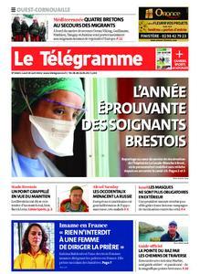 Le Télégramme Ouest Cornouaille – 19 avril 2021