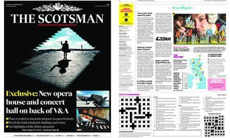 The Scotsman – September 13, 2018