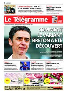 Le Télégramme Brest – 25 mars 2021