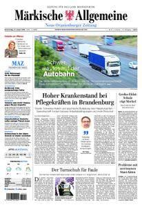 Neue Oranienburger Zeitung - 11. Januar 2018