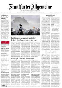 Frankfurter Allgemeine Zeitung - 19 November 2020