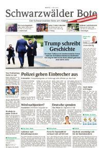 Schwarzwälder Bote Blumberg - 01. Juli 2019