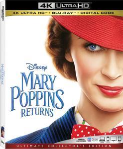 Mary Poppins Returns (2018) [4K, Ultra HD]