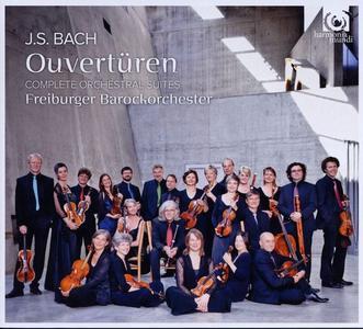 Freiburger Barockorchester - JS Bach: Overtures: Complete Orchestral Suites (2011)