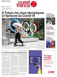 Ouest-France Édition France – 23 juillet 2021