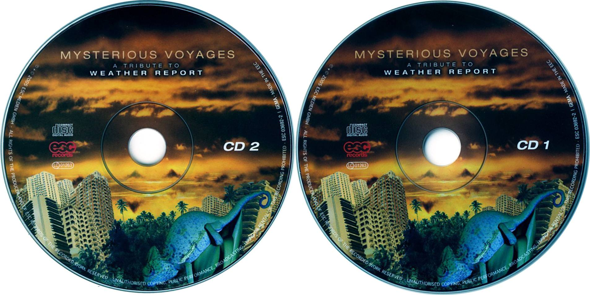 VA - Mysterious Voyages: A Tribute To Weather Report (2005) 2CDs