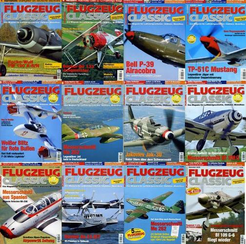 Flugzeug Classic - Full Year 2005 Issues Collection