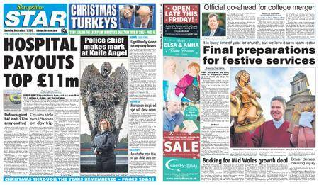 Shropshire Star Shrewsbury Edition – December 21, 2017
