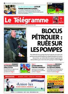 Le Télégramme Ouest Cornouaille – 30 novembre 2019
