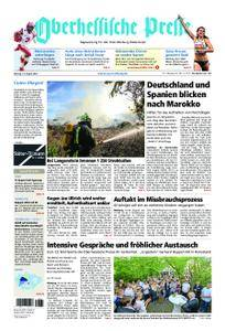 Oberhessische Presse Marburg/Ostkreis - 13. August 2018