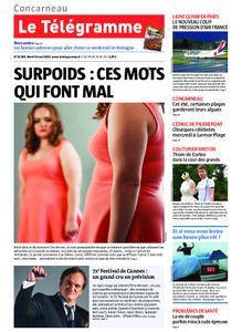 Le Télégramme Concarneau – 14 mai 2019