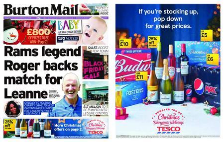 Burton Mail – November 22, 2018