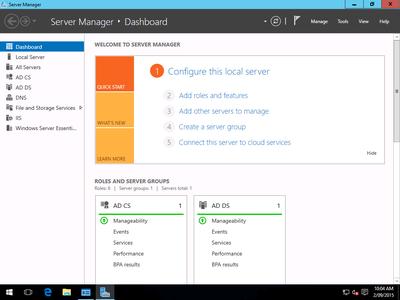 Microsoft Windows Server Essential 2016 iSO