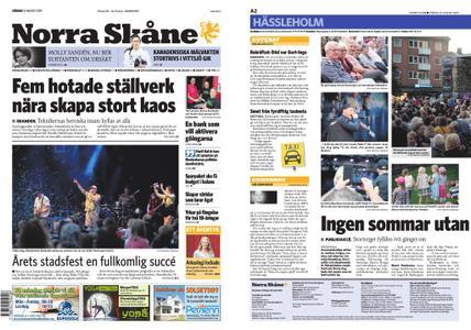 Norra Skåne – 24 augusti 2019