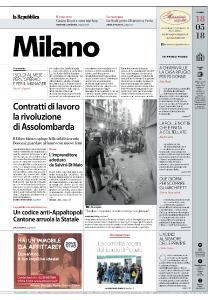 la Repubblica Milano - 18 Maggio 2018