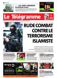Le Télégramme Brest – 21 octobre 2020