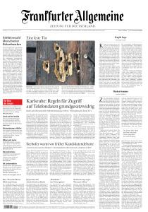 Frankfurter Allgemeine Zeitung - 18 Juli 2020