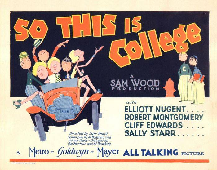 So This Is College (1929)