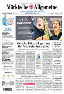 Neue Oranienburger Zeitung - 22. Februar 2018