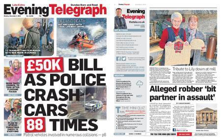 Evening Telegraph First Edition – December 02, 2019