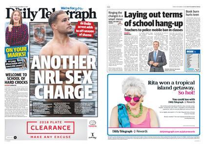The Daily Telegraph (Sydney) – December 14, 2018