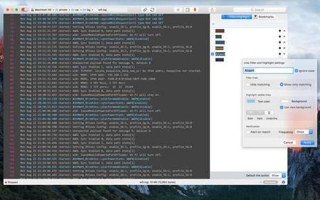LogTail 2.10 Mac OS X