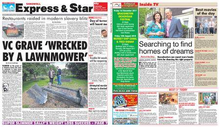 Express and Star Sandwell Edition – August 23, 2017