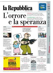 la Repubblica - 16 Marzo 2019