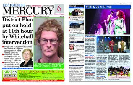 Hertfordshire Mercury – September 20, 2018