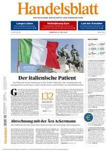 Handelsblatt - 22. Mai 2018