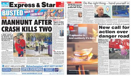 Express and Star Sandwell Edition – March 16, 2019
