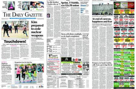 The Daily Gazette – April 30, 2018