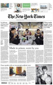 International New York Times - 23-24 February 2019