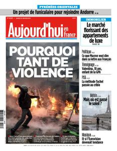 Aujourd'hui en France du Samedi 12 Janvier 2019