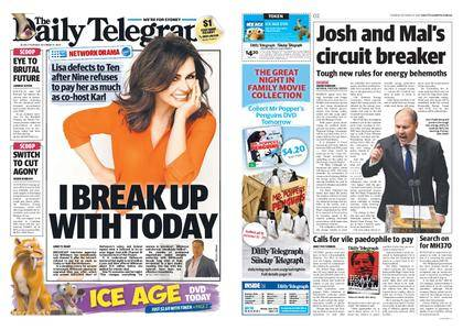 The Daily Telegraph (Sydney) – October 17, 2017