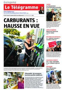 Le Télégramme Guingamp – 17 septembre 2019