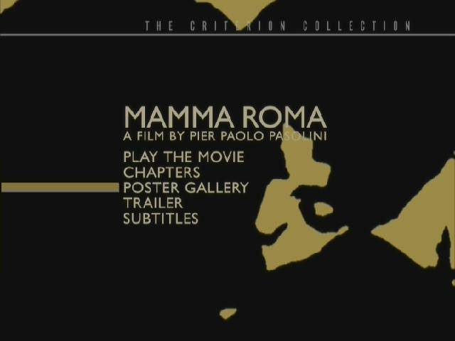 Mamma Roma (1962) [Criterion Collection]