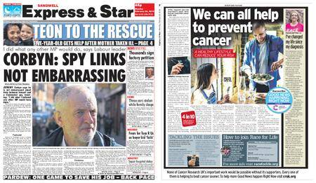 Express and Star Sandwell Edition – February 26, 2018