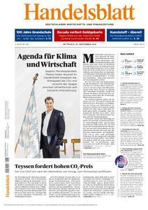 Handelsblatt - 18. September 2019