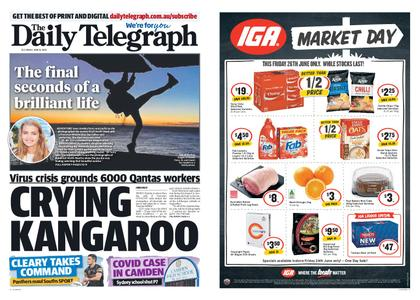 The Daily Telegraph (Sydney) – June 26, 2020