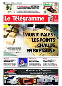 Le Télégramme Ouest Cornouaille – 26 juin 2020